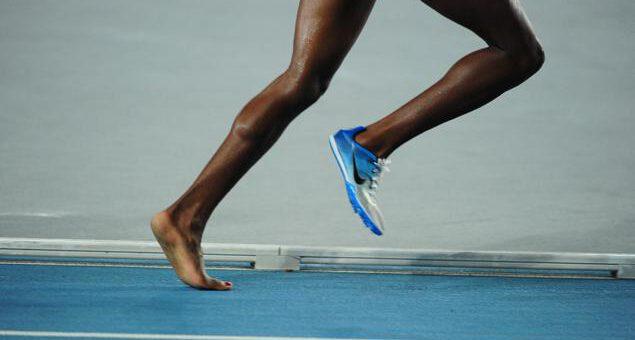 Stopa biegacza.