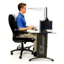 Jak zadbać o zdrowy kręgosłup w biurze.