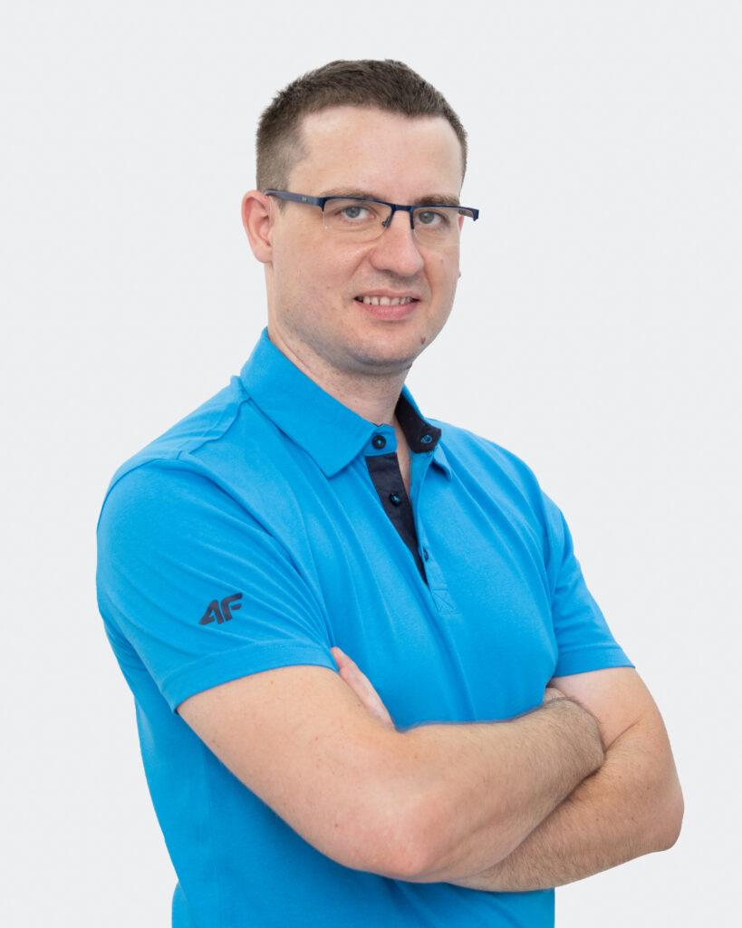 Fizjoterapeuta Paweł Szczygieł